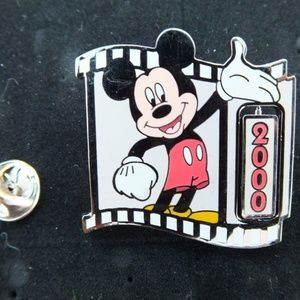 Disney Pin Countdown to the Millennium #1Mickey